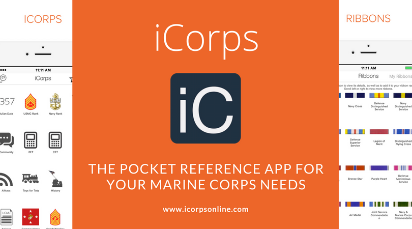 iCorps pocket reference app